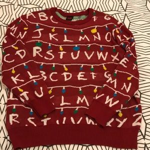 Stranger Things Sweaters Mens Ugly Holiday Lightup Sweater Poshmark